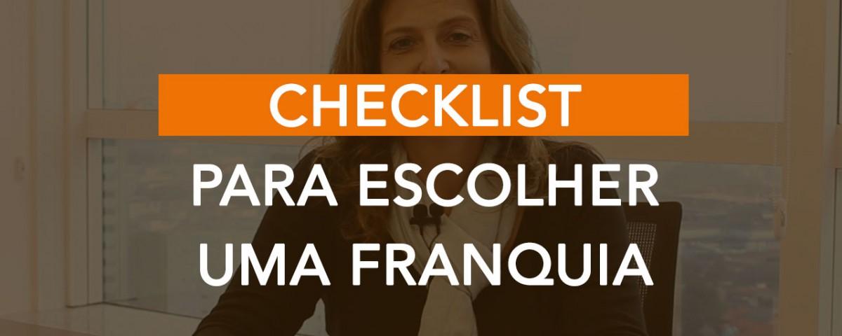Checklist para Escolher uma Franquia