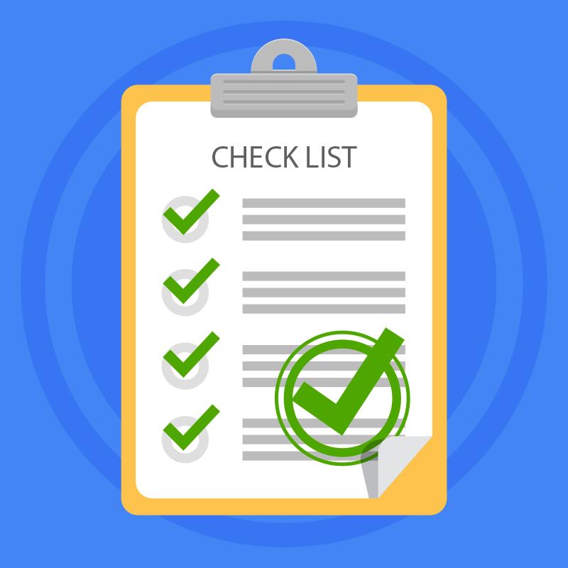 Checklist Ponto Comercial