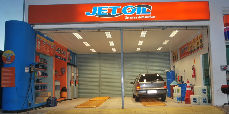 Franquia Jet Oil